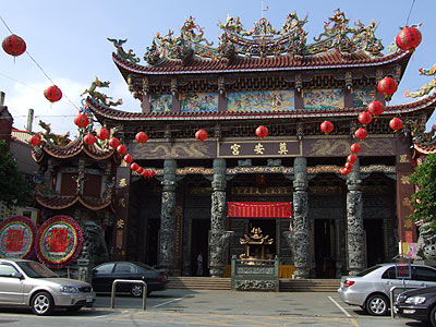(Culture) Beidou Dian-an Temple with Three Hundred Years of History