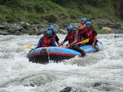 (Tourist Attraction) Rafting on Siouguluan River