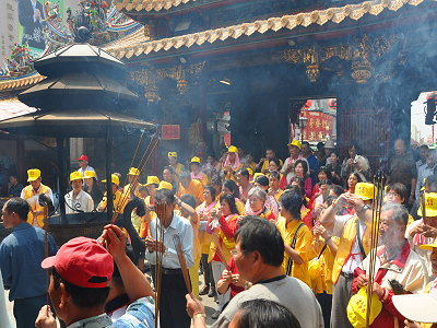 (Tourist Attraction) Beigang Chaotian Temple Dedicated to the Goddess of Sea