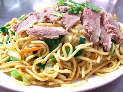 (Recipe) Duck Fried Noodles