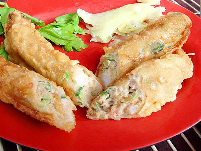 (Recipe)Tainan Anping Shrimp Roll