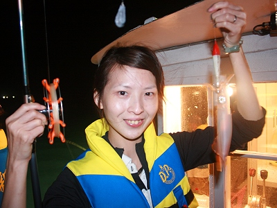 Autumn Fun Activity- Catching Squid in Nighttime