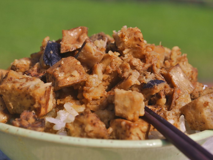 Delectable Taro Rice in Kinmen