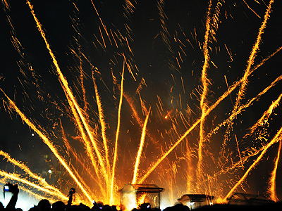 【Festival】The origin of Beehive Fireworks