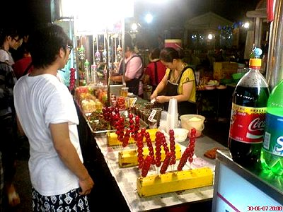 The beautiful night market along the coast: Hualien Nanbin Night Market