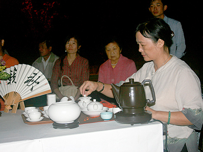 "At ""Perennial Tea Ceremony"", taste four kinds of tea (Alishan Tea Fields Trip)"