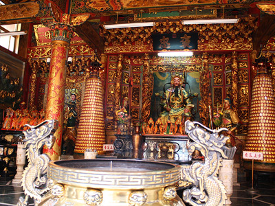 Kaohsiung Baojhong Yimin Temple Displays the Spirit of Great Love and Patriotism (History)