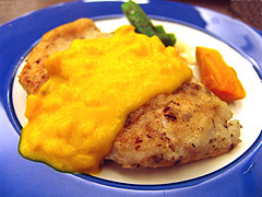 Mango Blackspot Tuskfish (Recipe Bible)