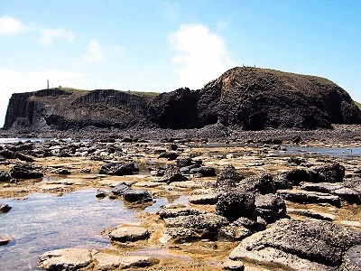 The Magnificence of Grand Canyon on the Sea - Niaoyu Islet Basalt Wall (Penghu East North Sea)