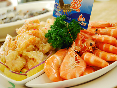 Donggang Cherry Shrimp Fried Rice (Summer Love at Dapeng Bay)