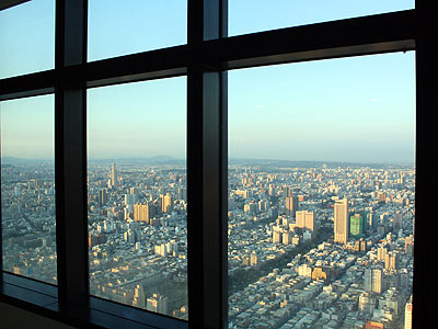 Tuntex 85 Sky Tower Possesses the Gorgeous Panoramic View of City, Mountain and Ocean (Architecture)