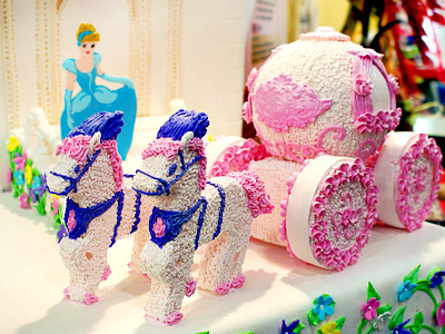 Food Art Exhibition – Cream and Sugar-coated 3D Sculpture (Taiwan Culinary Exhibition)