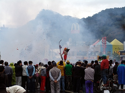 The Promoter of Bombarding Handan Festival Activities – Hsuanwu Temple (Folkway)
