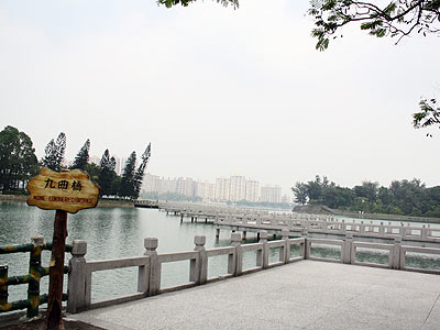 In Search of Serenity in Chengcing Lake Scenic Area (Lake)