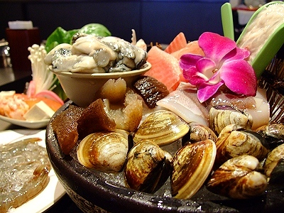 Exquisitely Flavored Broth Brings out the Natural Taste of Fresh Seafood