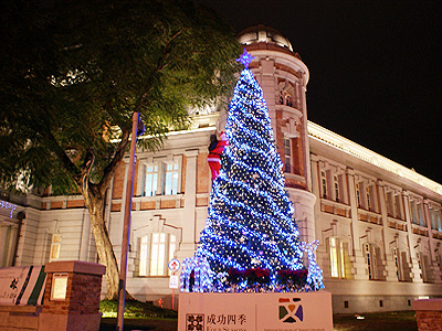 Christmas Tree Lighting Ceremony in Tainan to Unveil at National Museum of Taiwan Literature Plaza