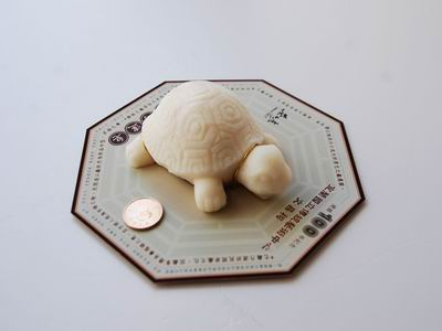 Handmade Turtle-shaped Floating Soaps to Give away Free of Charge
