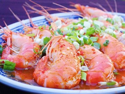 Must-try Shrimp Cuisine in Donggang