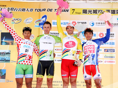 2012 Tour de Taiwan Ended in the Friendly City- Kaohsiung