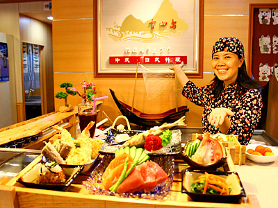 Enjoy Multiple Bargains in Japanese Restaurant