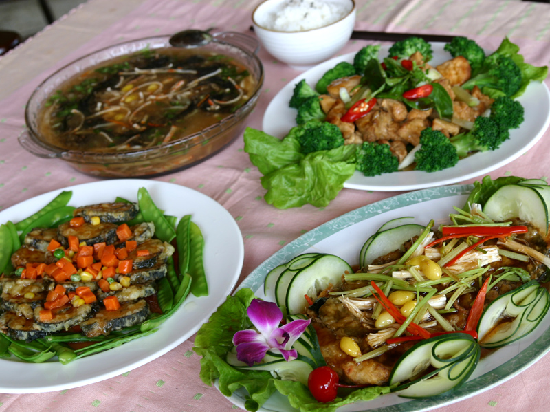 Healthy yet Delectable Vegetarian Food in Miaoli County