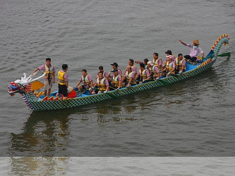 2012 Hsinchu City Dragon Boat Contest Ended Successfully