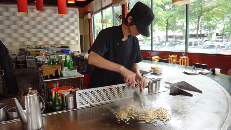 Fairly-priced Teppanyaki in Taichung