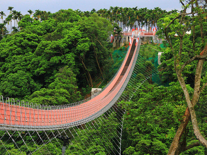 Skywalk in Nantou County Launched on July 22, 2012