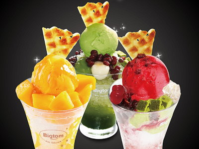 High Quality and Trendy-style Ice Cream in Bigtom