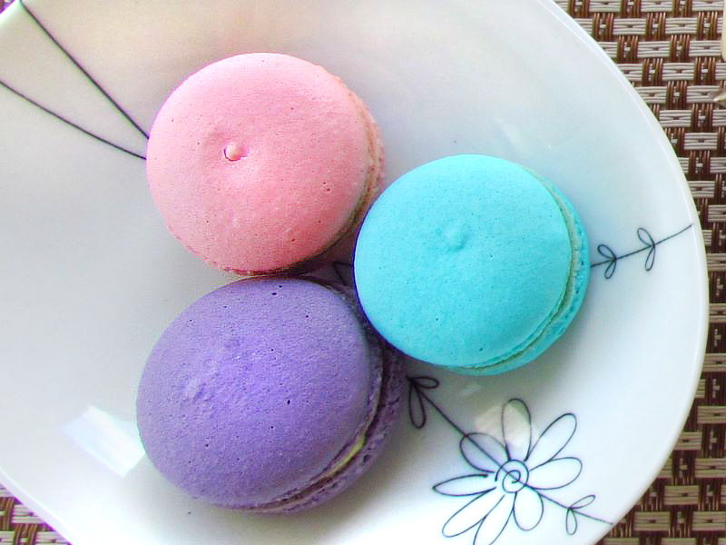 Natural ingredients, Low –Sugar Macaron
