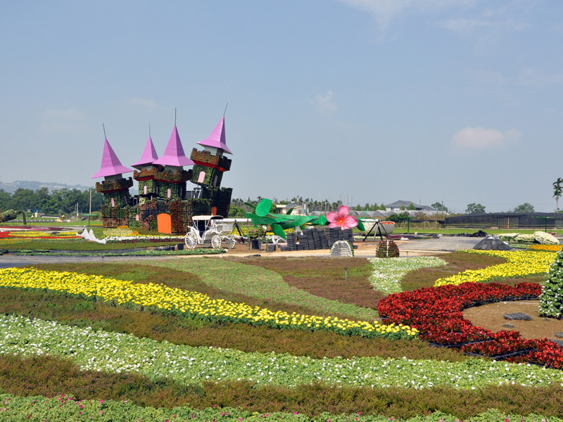2013 Xinshe flower-sea festival