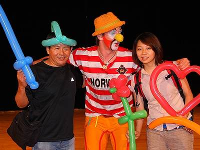 Moscow Magic Clown Theatre Will Perform on June 7 in Hsinchu City
